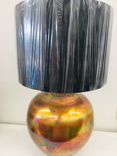Round Metal Table Lamp