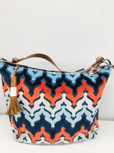 Emma Handbag Orange Crown