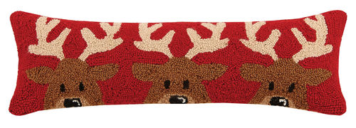 Reindeer Trio Pillow