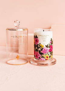Always in Rose Candle with Cloche
