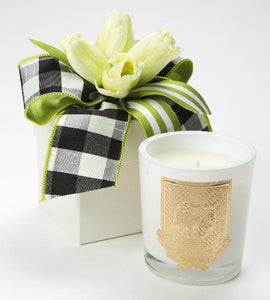 Lime Blossom Flower Box Candle