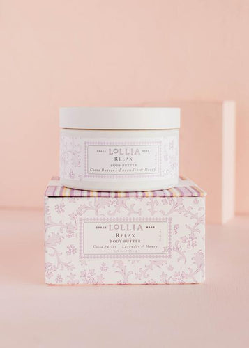 Relax Whipped Body Butter