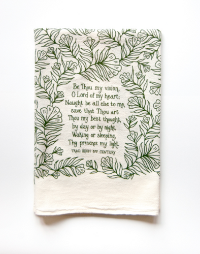 Be Thou My Vision- Little Things Hymn Tea Towel