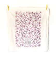 For the Beauty of the Earth- Little Things Hymn Tea Towel