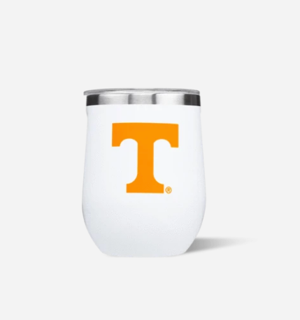 12oz Stemless White Gloss Tennessee