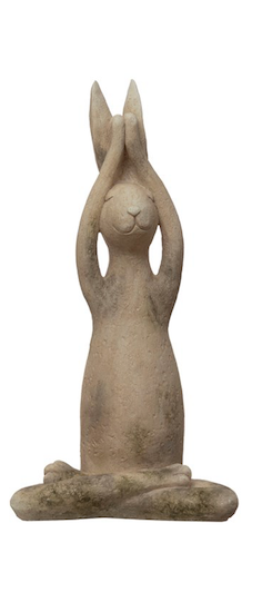 Resin Yoga Rabbit