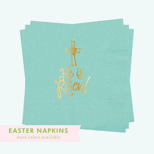 He Is Risen- Napkins