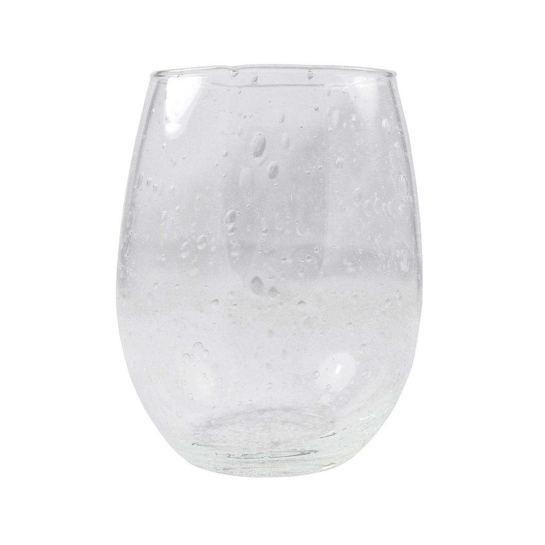 Bellini Stemless Red Wine Glass Set of 2