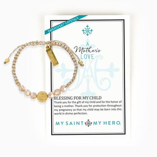 A Mother's Love Blessing for My Child Bracelet