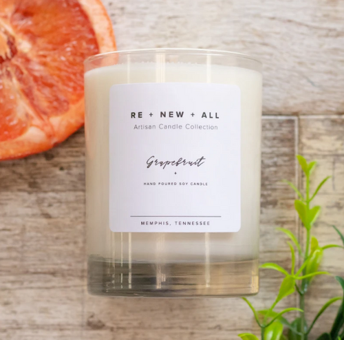 Grapefruit Re + New + All Candle