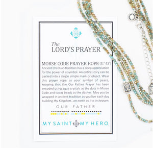 Lord's Prayer Morse Code Prayer Rope