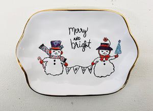 Merry and Bright Trinket Dish