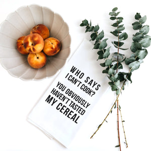 Favorite Child Snarky Dish Towel