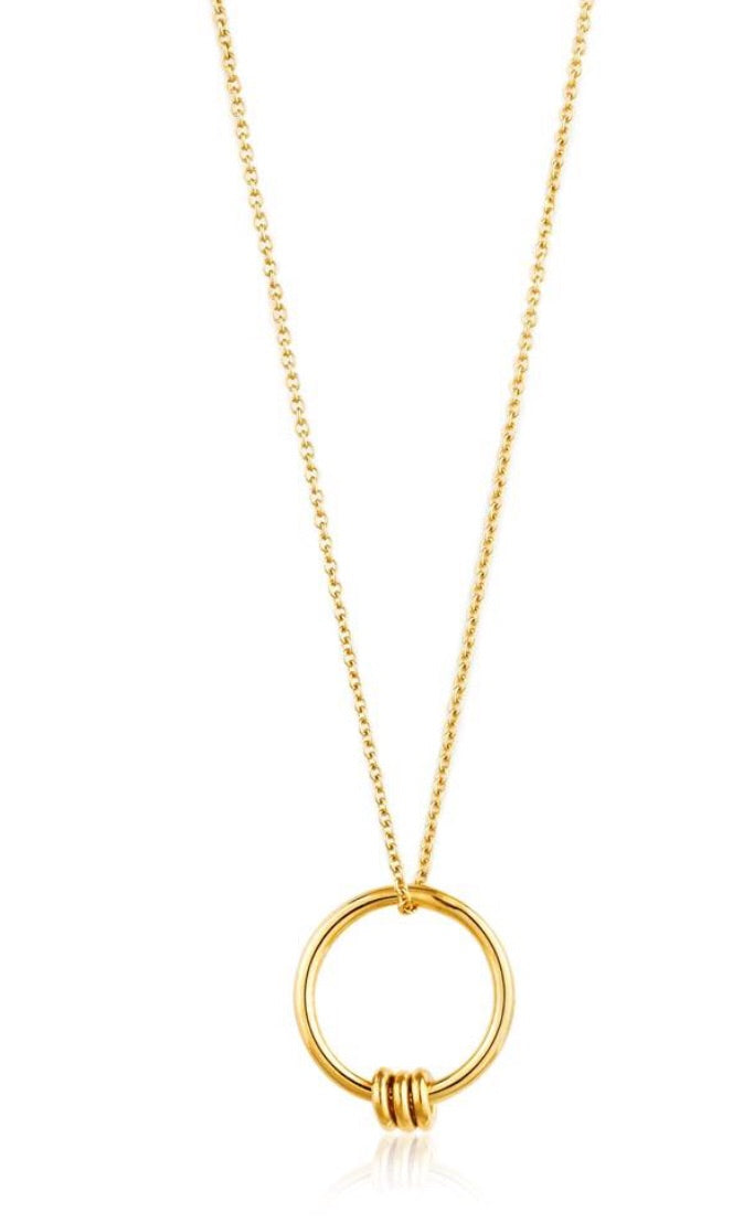 Modern Circle Necklace