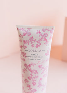 Relax Perfumed Shower Gel
