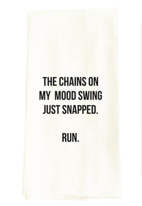 Mood Swing Snarky Dish Towel