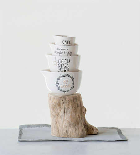 Holiday Stoneware Measuring