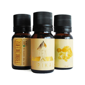 Frankincense Essential Oil + 100mg CBD (10ml)