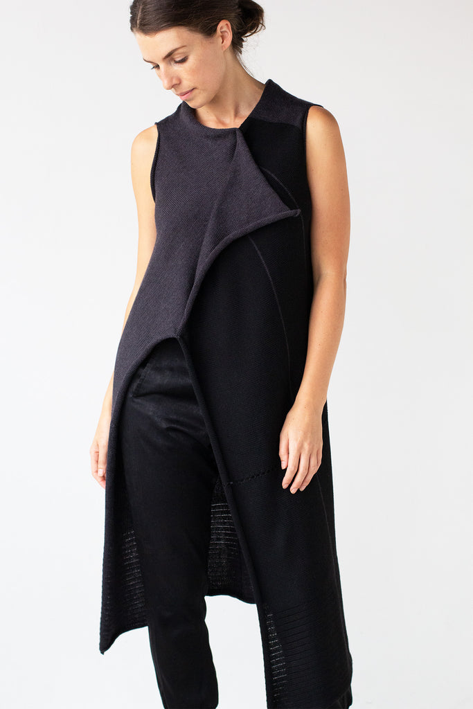 Two Toned Asymmetric Longline