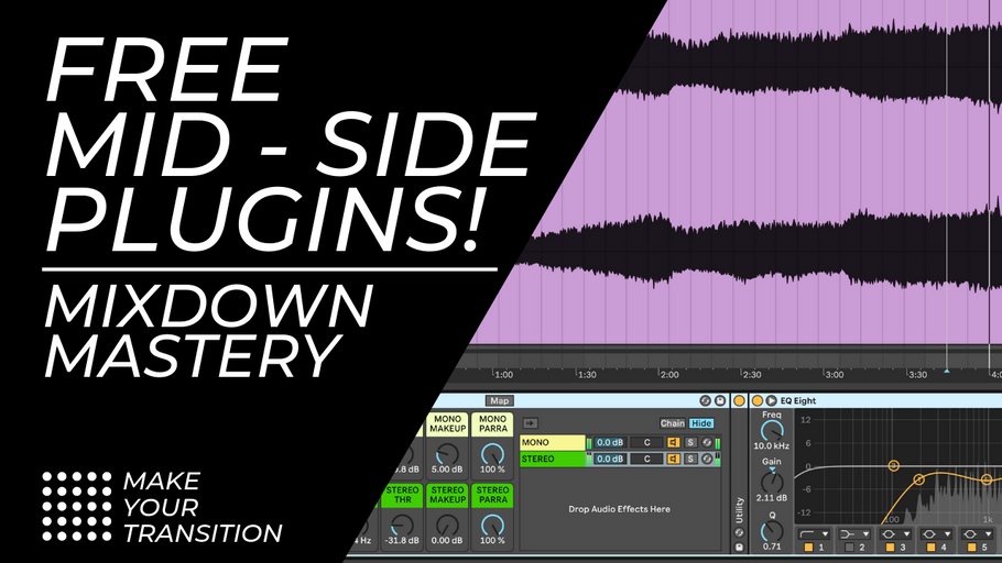 Download the FREE MYT Ableton Live Mid / Side Processors