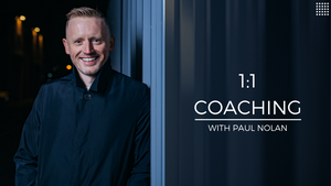 1:1 Coaching with Paul Nolan