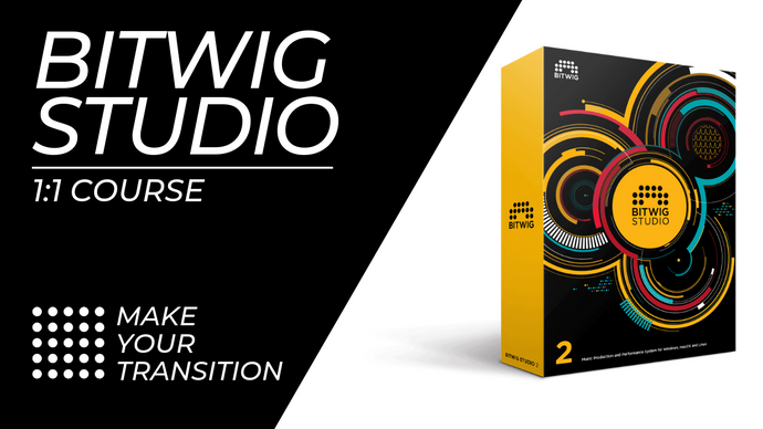 Bitwig Studio One To One Music Production Training Course from Make Your Transition