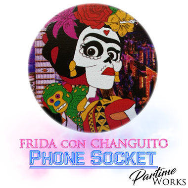 Frida con Changuito Phone Socket