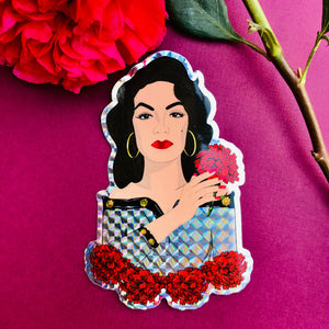 María Félix Holographic Sticker