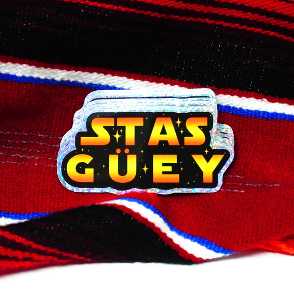 "Stas Guey 3"" Sticker"