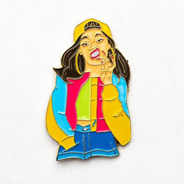 Spicy Mami Pin