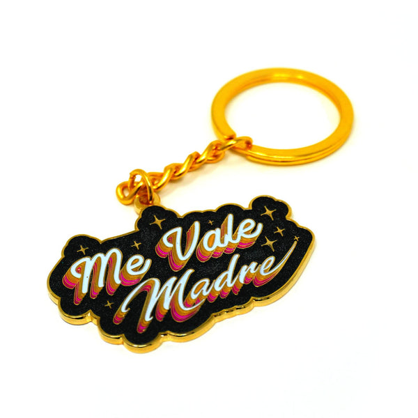 Me Vale Madre Keychain