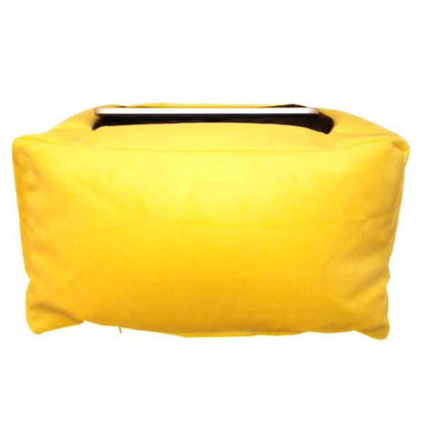 ipad pillow yellow