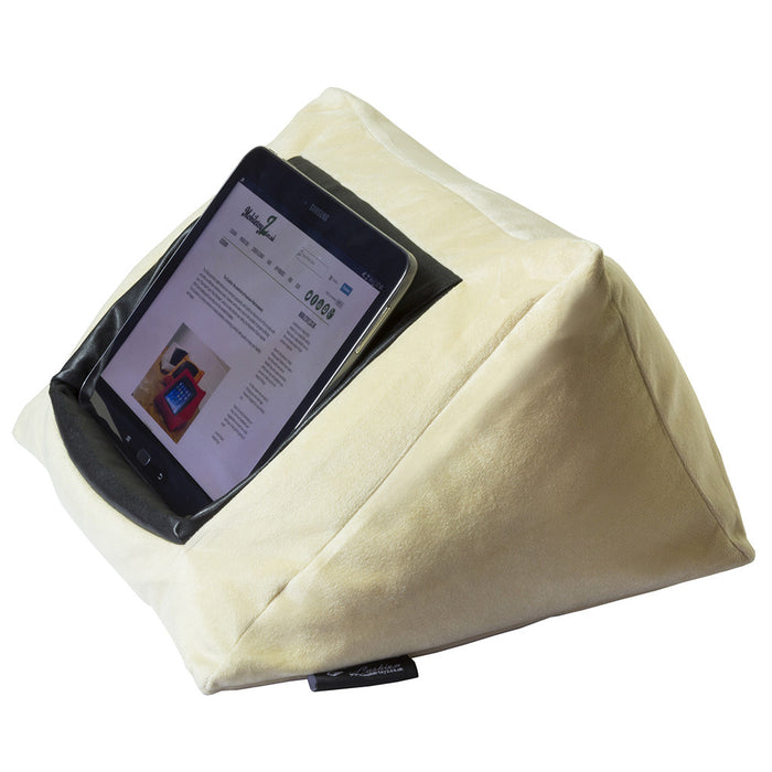 Cushion iPad Cushion Pillow Stand /Holder Velvet GOLD