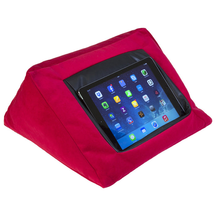 iCushion iPad Cushion Stand / Holder Velvet Red