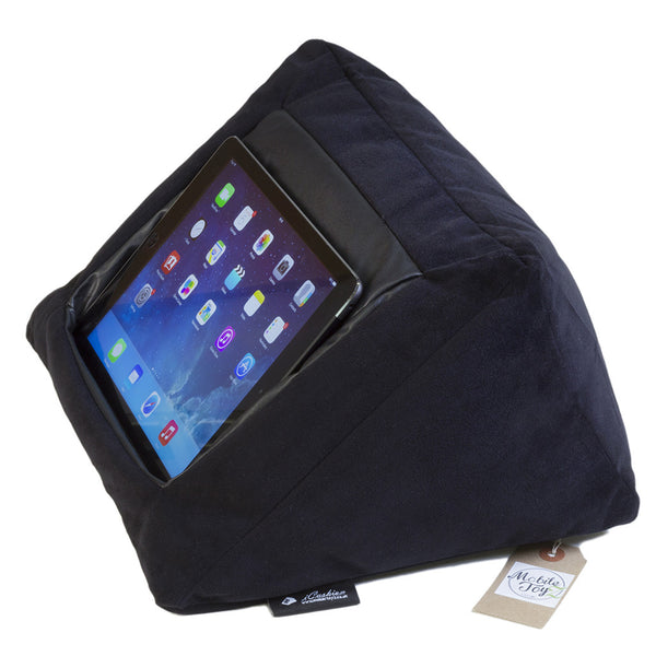 Icushion Ipad Cushion Pillow Stand Holder Velvet Black