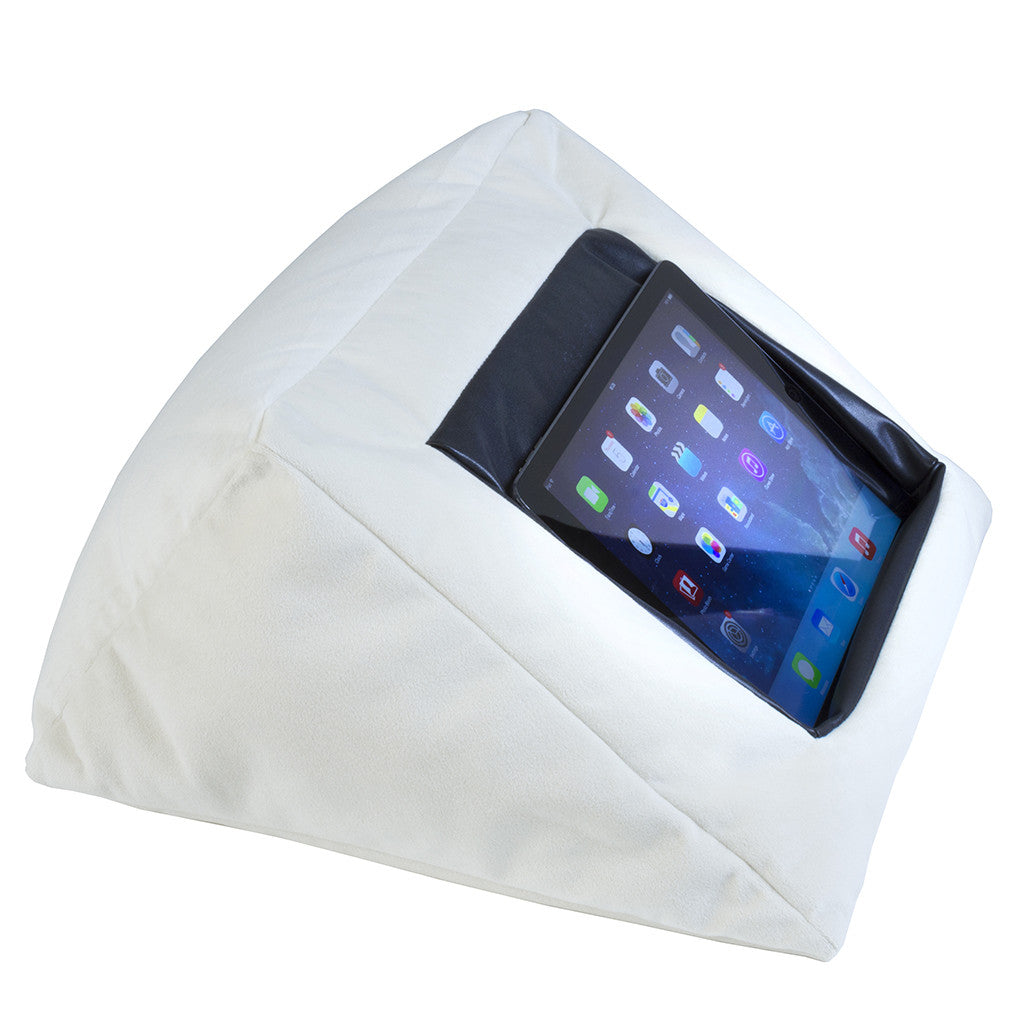 Picture of: Ipad Bed Pillow Cushion Stand Holder For Your Ipad The Comfy Way To Sleep With Your Ipad Mangotree Ventures Ltd