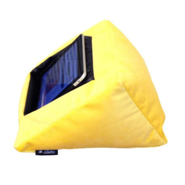 ipad cushion yellow