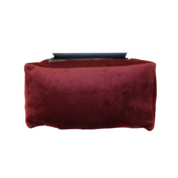 iCushion iPad Cushion Pillow Stand /Holder Velvet Maroon