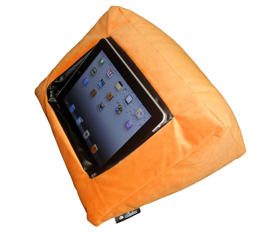 iCushion iPad Cushion Stand / Holder Velvet Orange