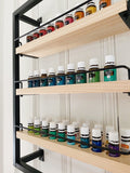 The Winston - Matte Black - Essential Oil Shelf