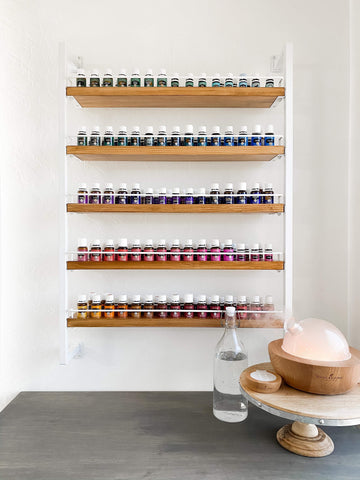 The Bray - Gloss White - Essential Oil Rack