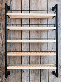 The Bray - Matte Black - Essential Oil Rack