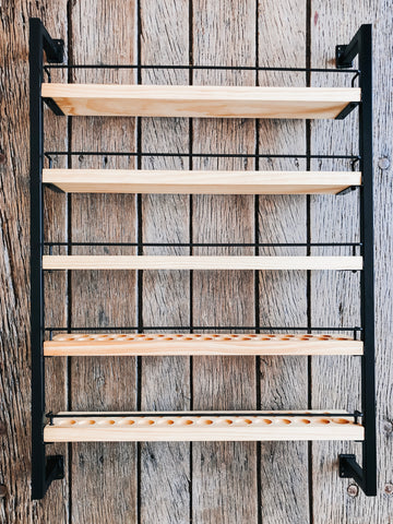 Essential Oil Rack Matte Black