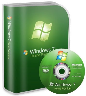 Refurbished Windows 7 Home Premium 32 Bit DVD + COA