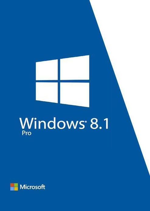 Microsoft Windows 8.1 Pro for 1 PC Key Code Download - NerdzPlanet