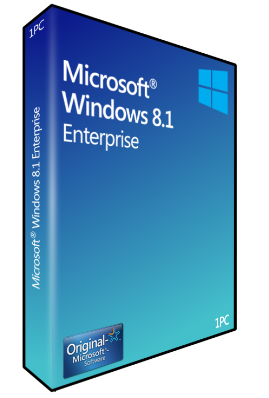 Refurbished Microsoft Windows 8 Enterprise 1 PC Key Code Download