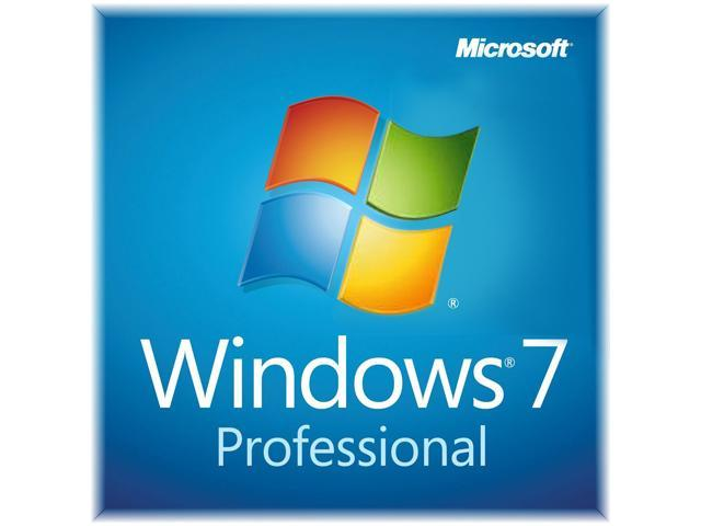 Refurbished Windows 7 Professional 64 Bit DVD + COA