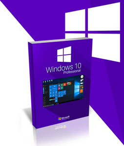 Refurbished Microsoft Windows 10 Professional 1PC Key Code Download
