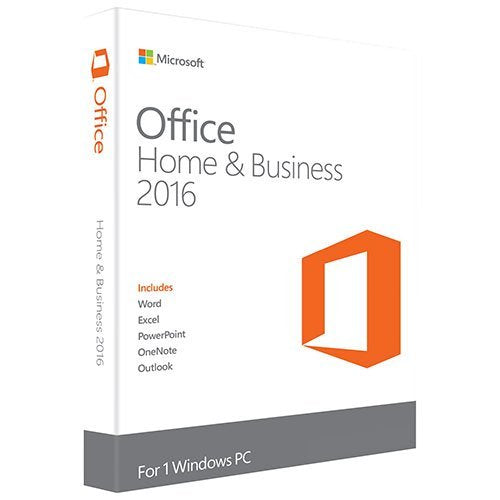 Refurbished Microsoft Office Home and Business 2016 1 PC Key Code Download