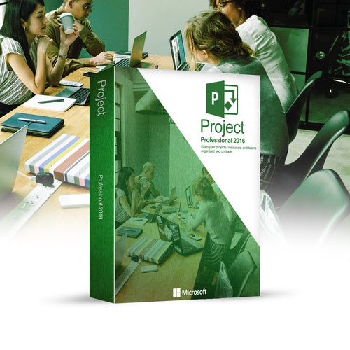 Refurbished Microsoft Project 2016 Professional